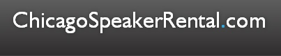ChicagoSpeakerRental.com